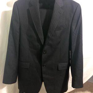 RALPH LAUREN pinstriped Suit 44L, 36x32